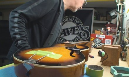 Vintage Framus Guitar Gets Some Help Part 1