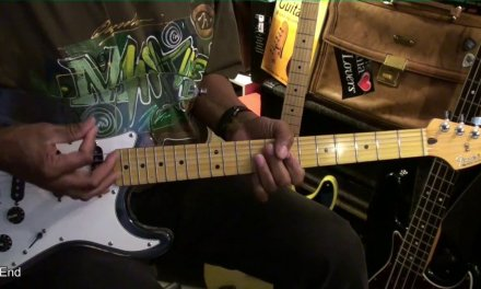 FUNKY NASSAU Beginning Of The End Rhythm Guitar Cover& Lesson Link EricBlackmonGuitar