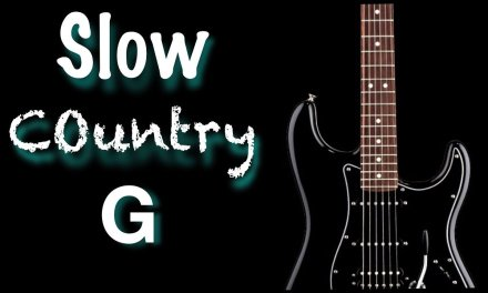 Slow Country Backing track For Guitar (G)