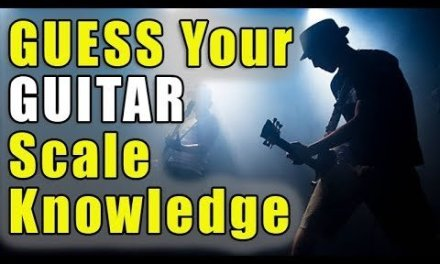 Guess Your Guitar Scale Education Level