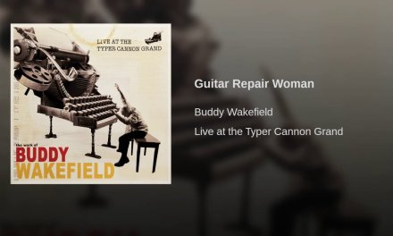 Guitar Repair Woman