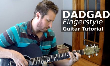 Fingerstyle Guitar Tutorial! – Learn to play in DADGAD!