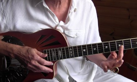 Kelly Joe Phelps Slide Guitar Lesson – Down To The Praying Ground