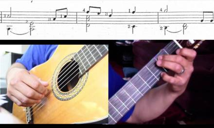Lullaby, Johannes Brahms, Classical Guitar (Easy) – Popular Songs #3