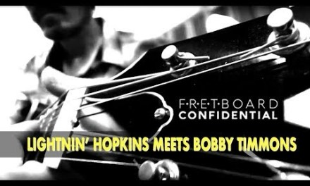 Lightnin' Hopkins Meets Bobby Timmons: Fingerstyle Blues Guitar Licks in A