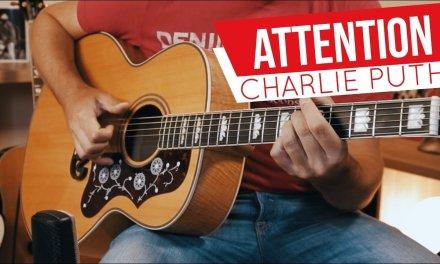 How to Play Attention – Charlie Puth // Coach Guitar Cover