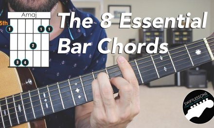 The 8 Essential Bar Chord Shapes  – Easy Beginner Guitar Lesson