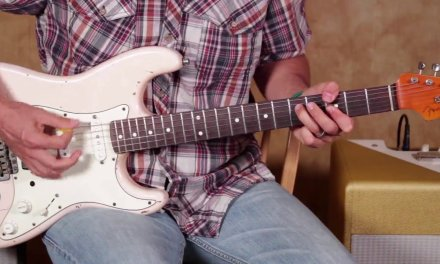 Lick Of the Day  – Blues Double Stops  – Guitar Lesson