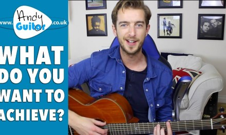 What Do You Want To Achieve On Guitar Between Now And Christmas?