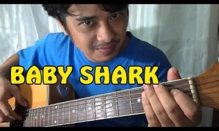Baby Shark Challenge Song – Guitar Chords Tutorial ni Pareng Don