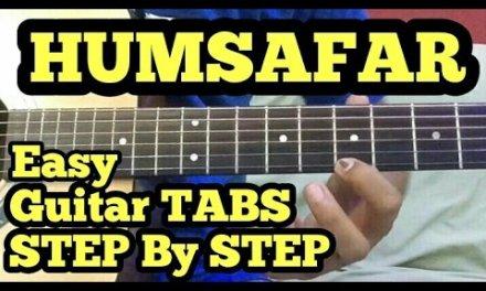Humsafar Guitar Tabs/Lead Lesson | Badrinath Ki Dulhania | Cover | Varun,Alia Bhat | fuZaiL Xiddiqui