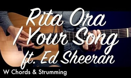 Rita Ora | Your Song ft. Ed Sheeran  Guitar Tutorial Lesson / Guitar Cover How To play chords