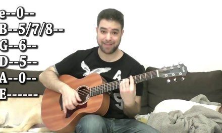 Guitar Lessons.  Fingerstyle Tutorial # 01  – Blues in E (23 Soloing Ideas & Tips)