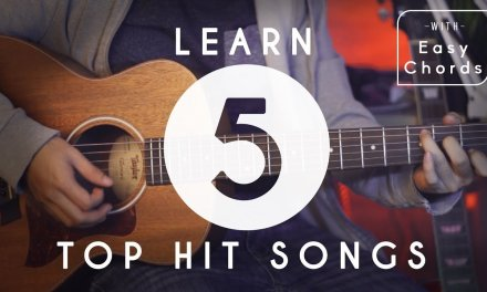 How To Play 5 Top Hit Songs for Beginners | Guitar Tutorial | Easy Chords and Melody Tabs
