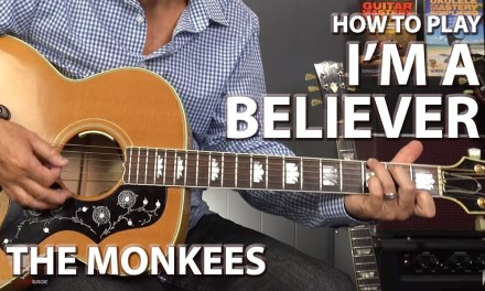 I'm a Believer by The Monkees – Guitar Lesson