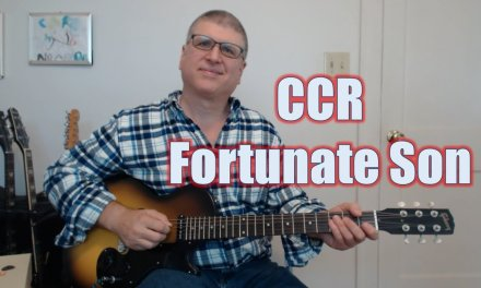 Fortunate Son by CCR (Guitar lesson with TAB)