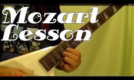 MOZART – Turkish March – Guitar Lesson