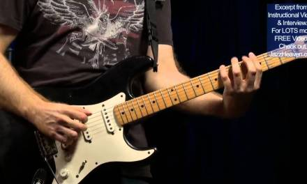 "Oz Noy Guitar Lesson ""Twice in a While"" Intro JazzHeaven.com Funk Guitar Lesson Excerpt"
