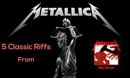 5 Essential Metallica Guitar Riffs from Kill 'Em All – Steve Stine Guitar Lesson