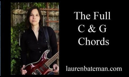 How To Play The C and G Chords on Guitar