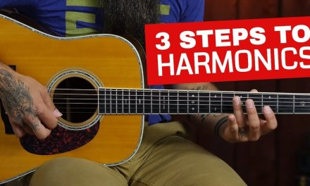 How to Play Harmonics on Acoustic Guitar in 3 Steps