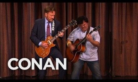 Conan And Jack Black's Guitar Battle  – CONAN on TBS