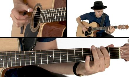 Joe Robinson Fingerstyle Guitar Lesson – Funk in E Performance