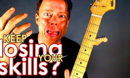 Losing your skills? – Guitar practice