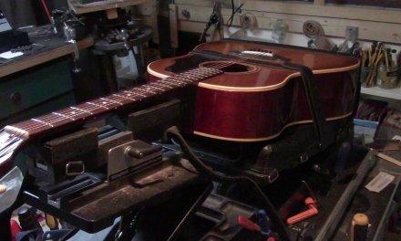 40's verses 60's Gibson Acoustics + 67′ Fender Coronado Refret