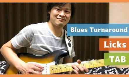 14 Modern Blues Turnaround Licks in E (w/TAB)