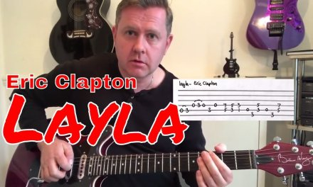 Easy Guitar Lesson Layla Eric Clapton