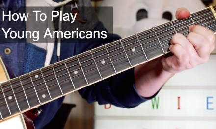 'Young Americans' David Bowie Acoustic Guitar Lesson