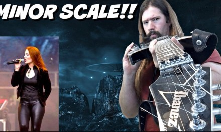 Minor Scale Metal Guitar Lesson!!