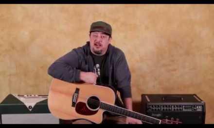 Acoustic Blues Chord Progression (Quick 5 minute lesson)