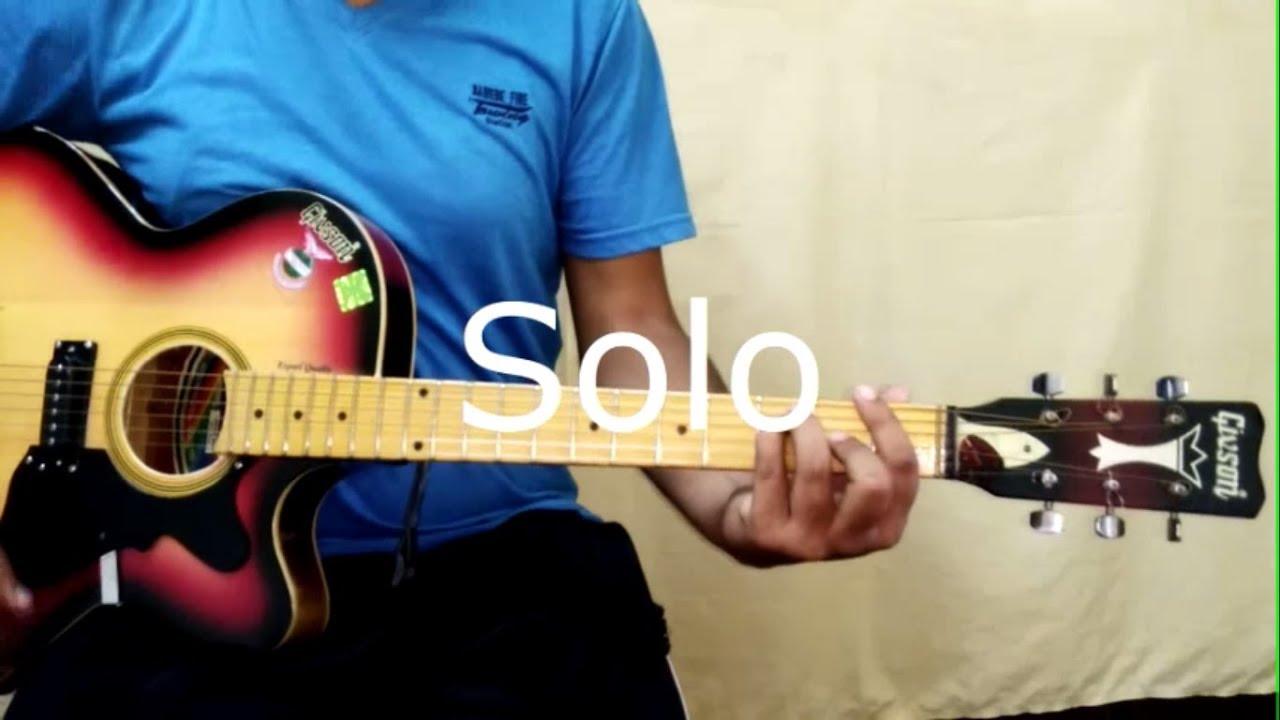 Sapne Re Guitar Lesson Secret Superstar Intro Solo Chords