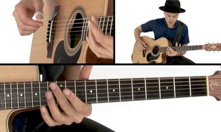 Joe Robinson Fingerstyle Guitar Lesson – Struttin' It Breakdown