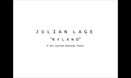 Julian Lage – Ryland Guitar Backing track