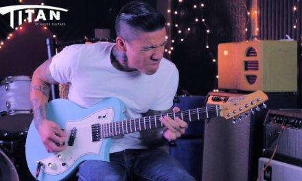 Titan KR1 Custom Lollar Pickups – Slow Blues Guitar demo