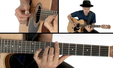 Joe Robinson Fingerstyle Guitar Lesson – Struttin' It Performance
