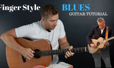 Finger Style Blues Guitar-Guitar tutorial