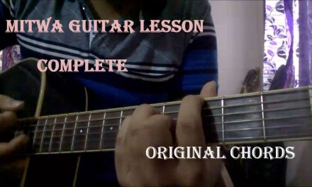 Mitwa Guitar Lesson | Original Chords & Intro | Beginners Lesson