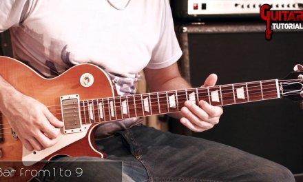 The Loner (Gary Moore) –  2nd Part  – Guitar Tutorial with Matt Bidoglia