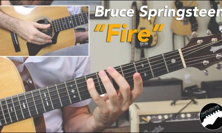 """Bruce Springsteen """"Fire"""" 