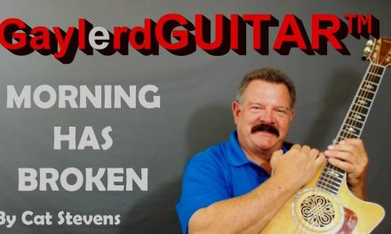MORNING HAS BROKEN by Cat Stevens  – Guitar Lesson (How to play)