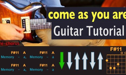 Come As You Are – Nirvana – Guitar lesson