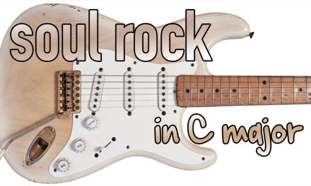 Soul Bluesy Rock Guitar backing Track Jam in C