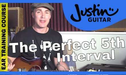 Ear Training Course: The Perfect 5th Interval Hear Recognize Sing Play Guitar Lesson Tutorial