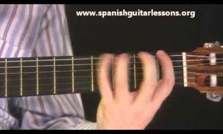 An Essential Spanish Guitar Scale