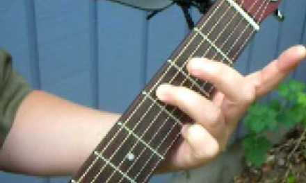 How to Play a C Scale on the Guitar