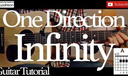 Infinity – One Direction Guitar Tutorial /Guitar Lesson / easy chords for beginner /